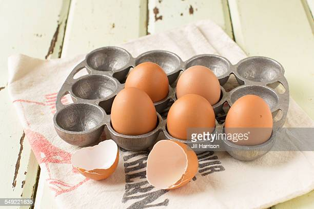 fresh eggs - jill harrison stock pictures, royalty-free photos & images