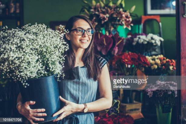 fresh flowers - florist stock pictures, royalty-free photos & images