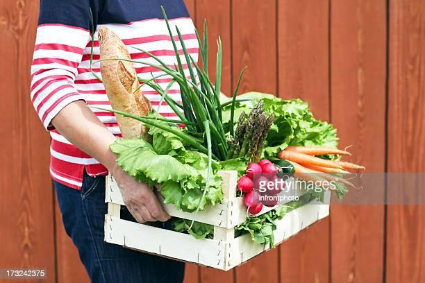 Fresh Food From A Farmers Market