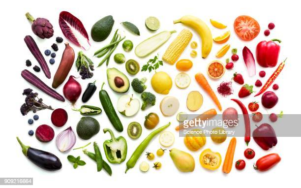 fresh fruit and vegetables - fruit stock pictures, royalty-free photos & images