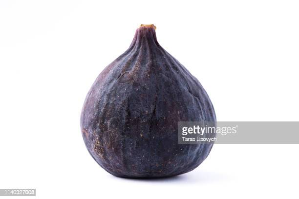 fresh fruit fig close up isolated on the white background - fig stock pictures, royalty-free photos & images