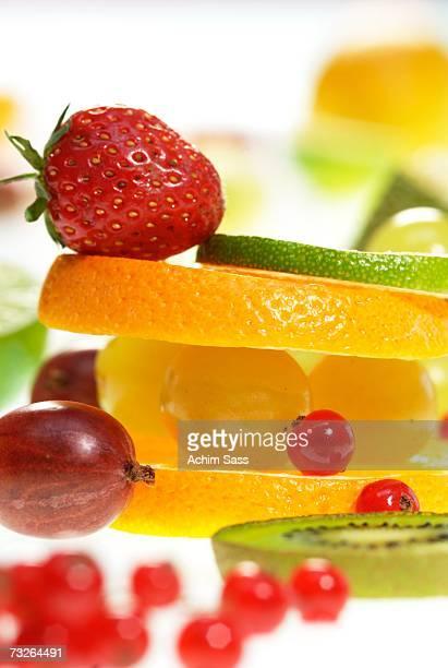 Fresh fruits, close-up