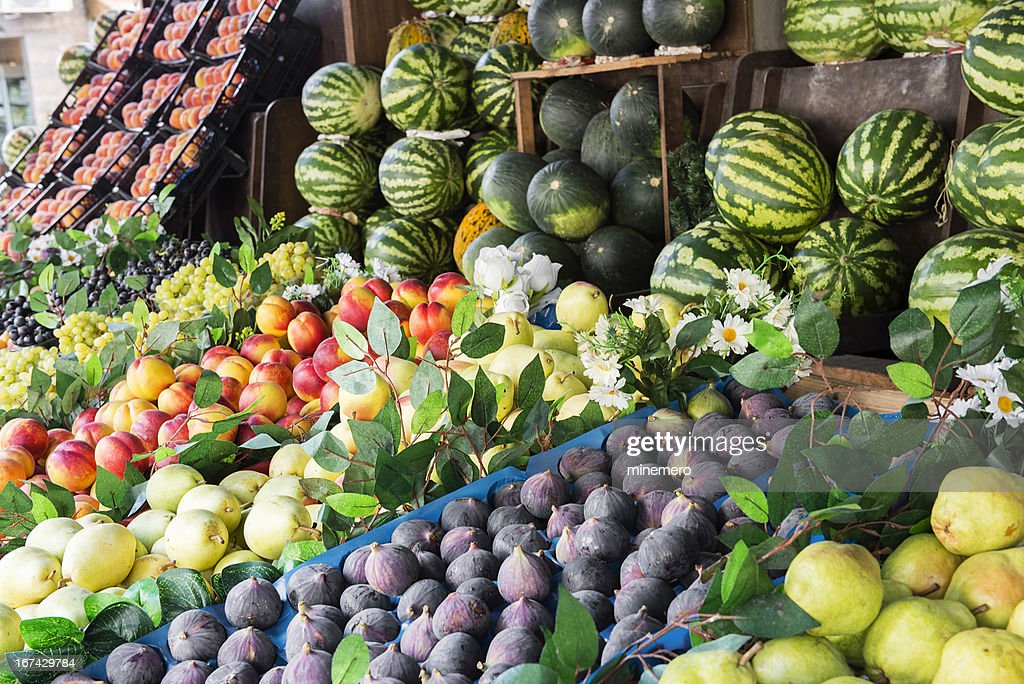 Fresh fruits : Stock Photo