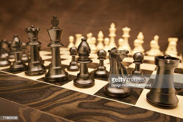 A fresh game of chess
