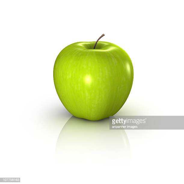 Fresh Green Apple with lots of Vitamins