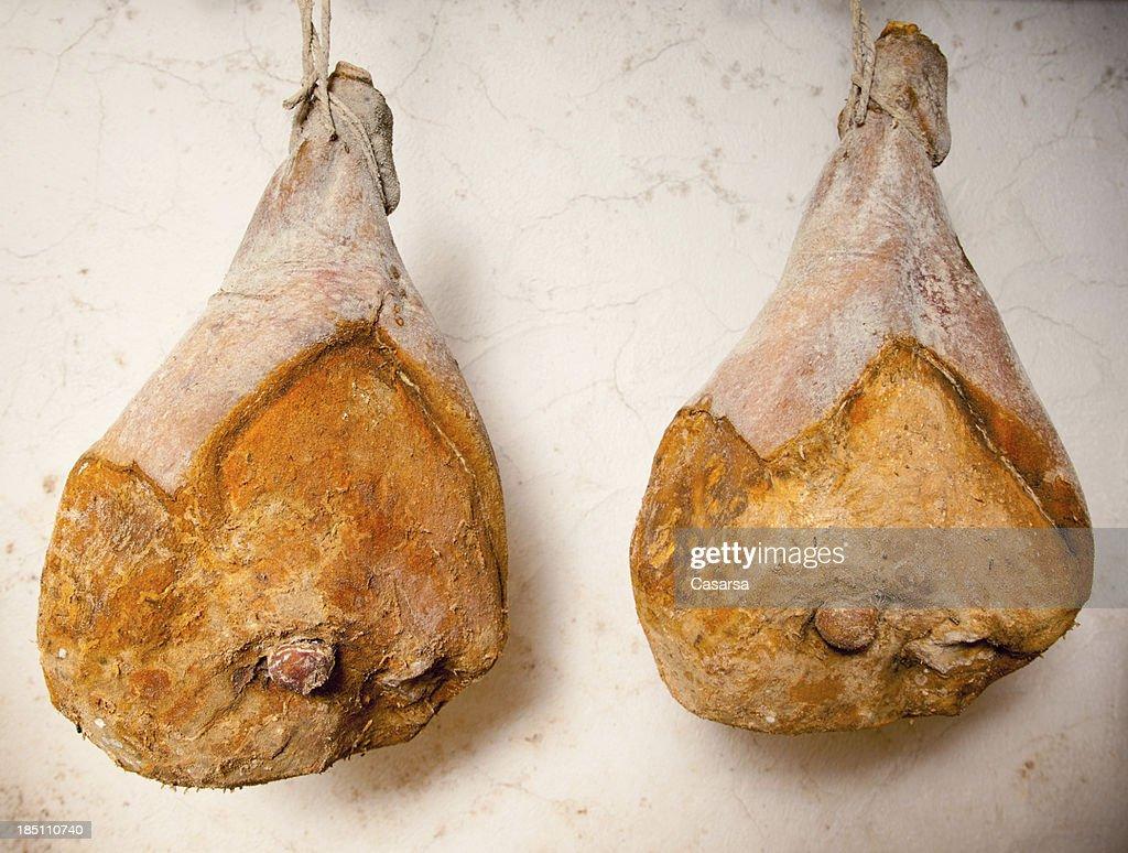 Fresh ham : Stock Photo