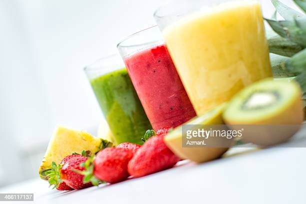 Fresh, healthy smoothies
