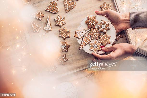 Fresh Homemade Christmas Cookies