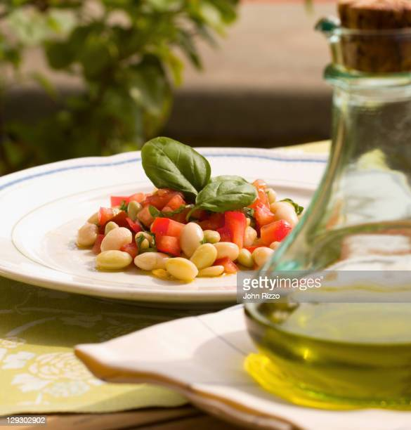 Fresh Italian bean salad