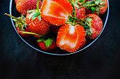 strawberry food berry fruit ripe fruit