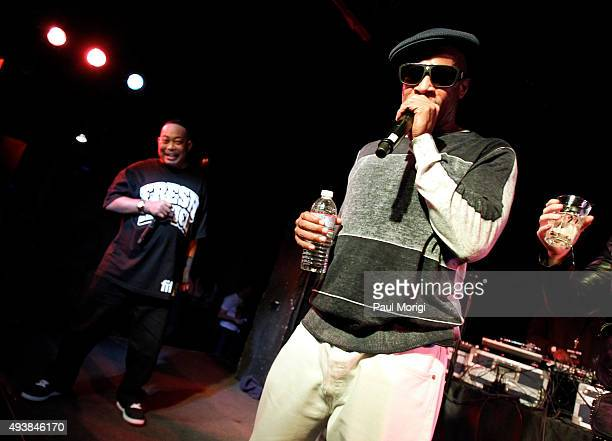 Fresh Kid Ice and Brother Marquis of 2 Live Crew perform at Rock The Vote's #TBT 25th Anniversary Concert at The Black Cat on October 22 2015 in...