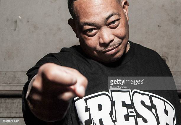 Fresh Kid Ice of 2 Live Crew poses for a portrait during the Rock The Vote 25th Anniversary Concert at The Black Cat on October 22 2015 in Washington...