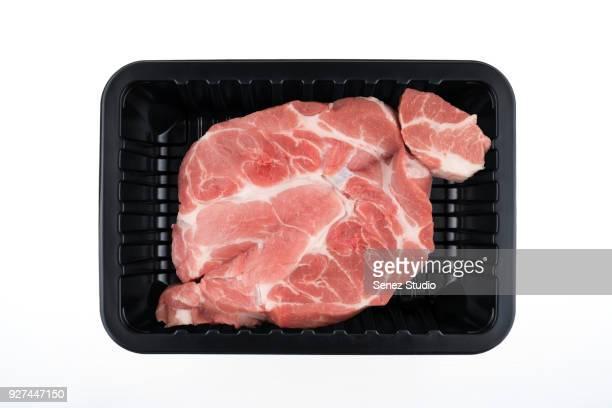 fresh meat food - carne de cerdo fotografías e imágenes de stock
