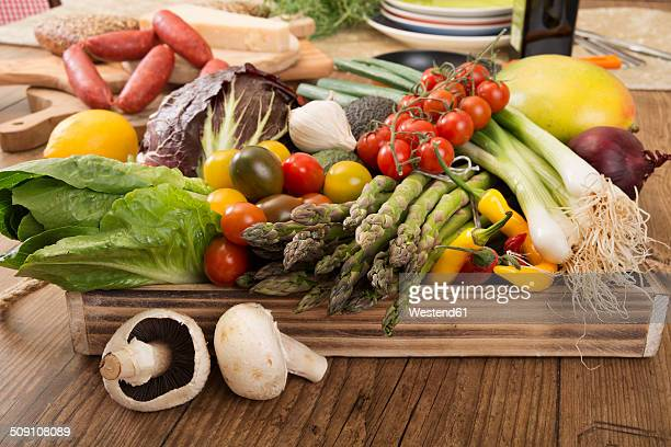 Fresh Mediterranean vegetables