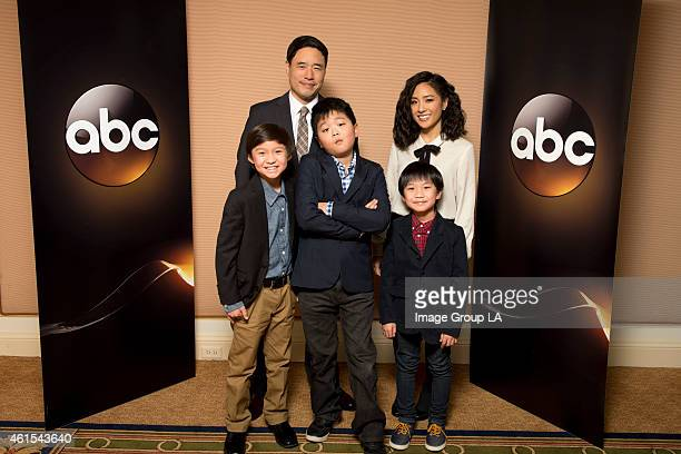 TOUR 2015 Fresh Off the Boat The cast and executive producers of Fresh Off the Boat at Disney | Walt Disney Television via Getty Images Television...