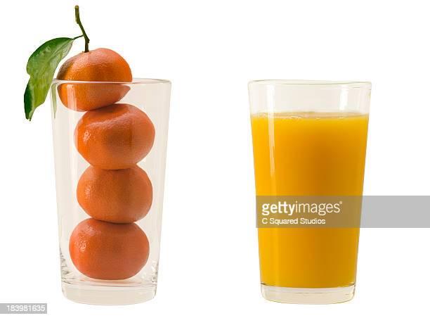 Fresh oranges VS Orange Juice