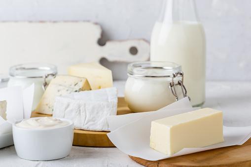 Fresh organic dairy products 889700372