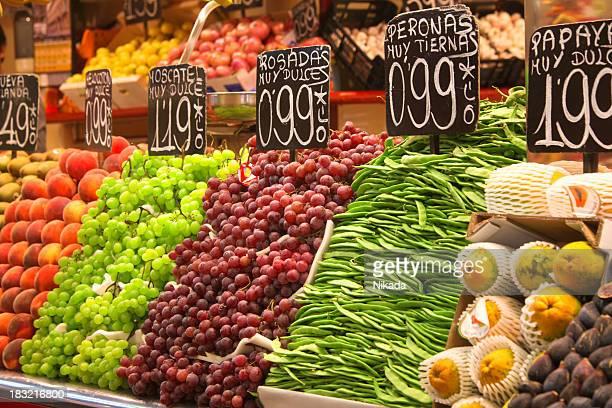 alimenti biologici freschi - prezzo messaggio foto e immagini stock
