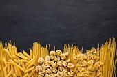 Fresh organic ingredients of italian recipes.