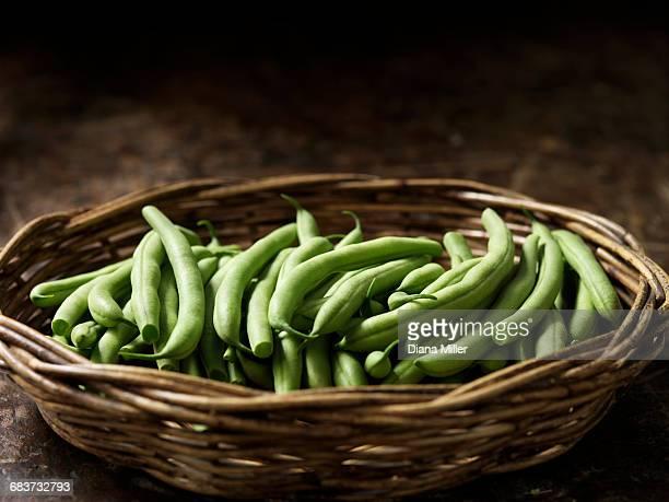 Fresh organic vegetables, boston beans