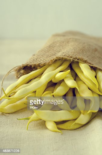 Fresh Organic Yellow Kidney Beans Stock Photo Getty Images