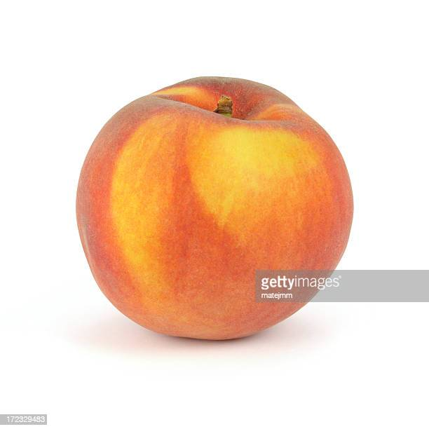 fresh peach - peach stock photos and pictures