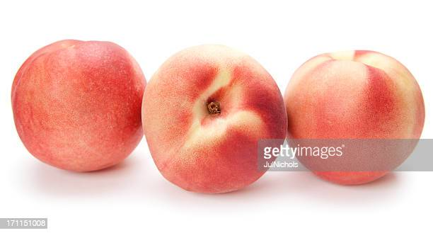 fresh peaches - peach stock pictures, royalty-free photos & images