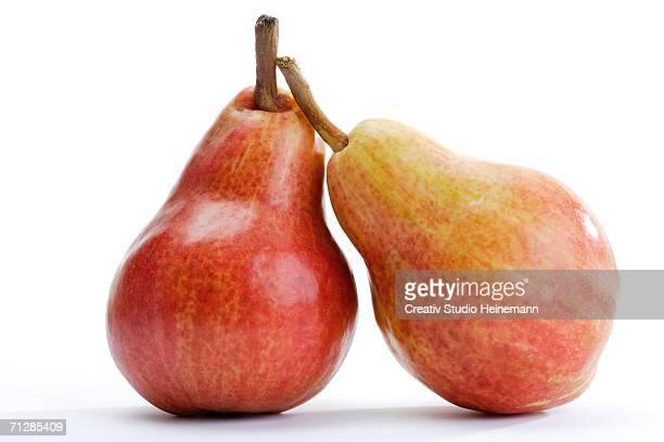 Fresh pears, close-up