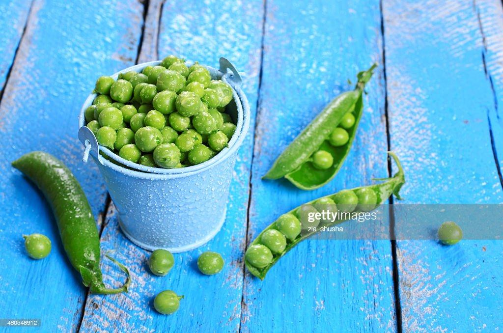 Guisantes frescas : Foto de stock