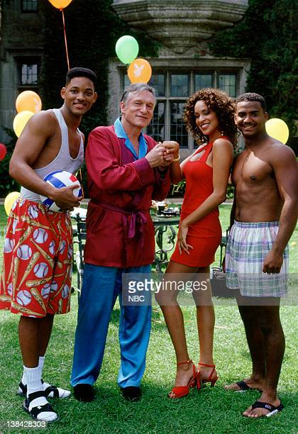 AIR 'Fresh Prince After Dark' Episode 9 Air Date Pictured Will Smith as William 'Will' Smith Hugh Hefner as himself Karyn Parsons as Hilary Banks...