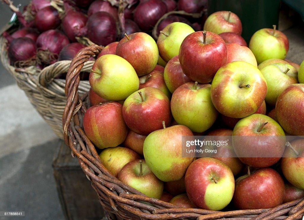 Fresh produce at marketplace : Stock Photo