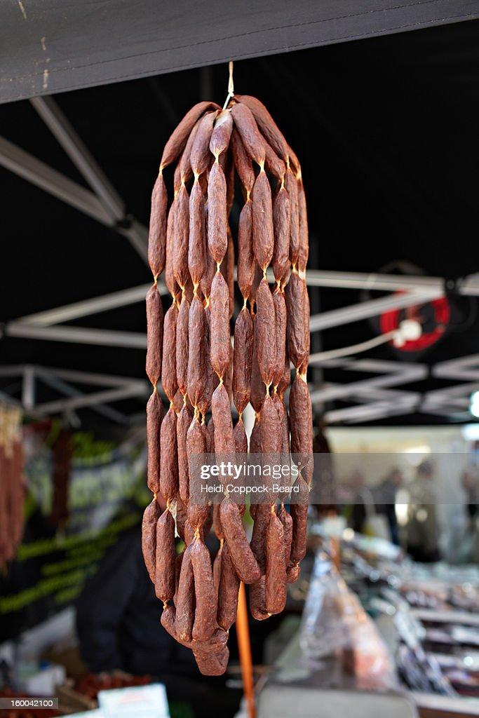 Fresh Produce in market : Stock Photo