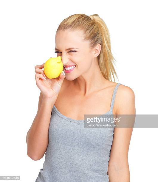 新鮮な食材は、彼女の健康の秘訣