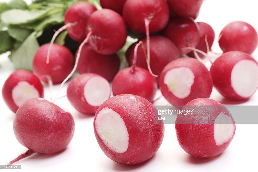 Fresh radish : Stock Photo