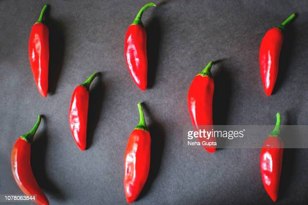 Fresh Red Chilies