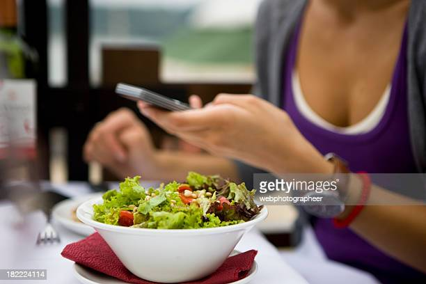 fresh salad - course meal stock pictures, royalty-free photos & images