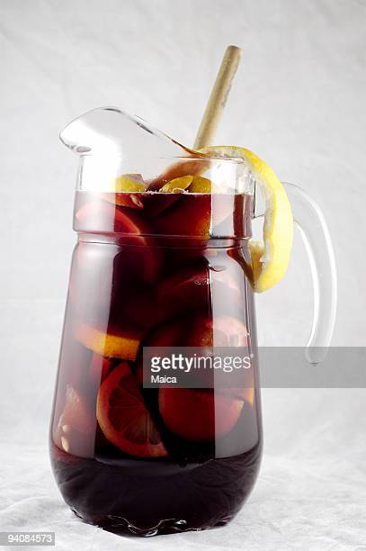 fresh sangria - sangria stock pictures, royalty-free photos & images