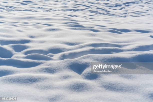Fresh snow surface