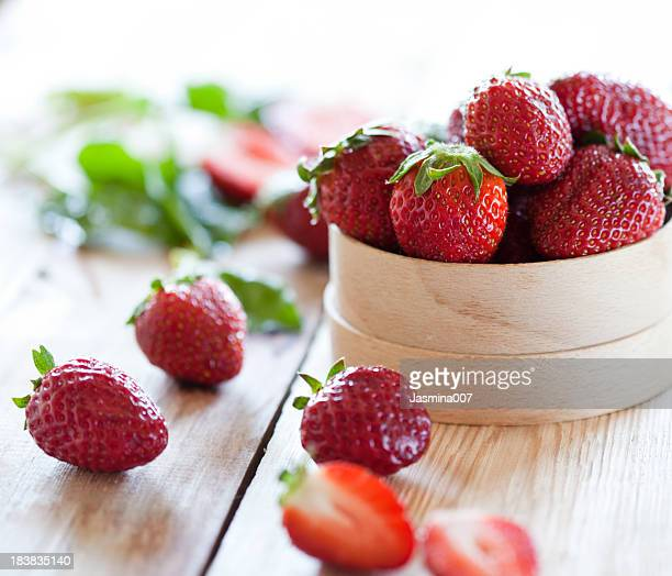 Des fraises de prime fraîcheur