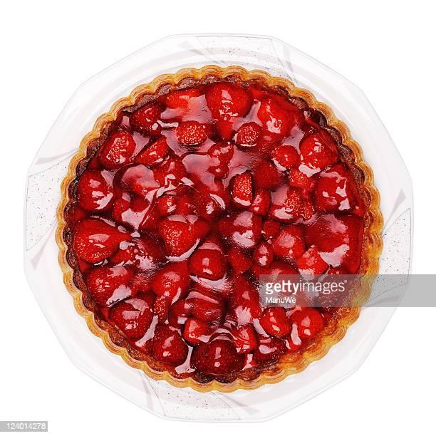 Un gâteau à la fraise