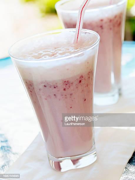 Frische Erdbeer-Smoothie