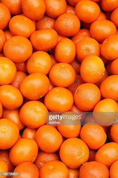 Frische Mandarinen für den Verkauf