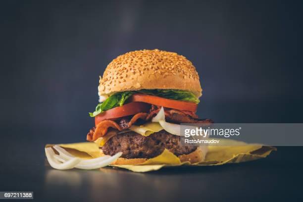 Fresh tasty burger