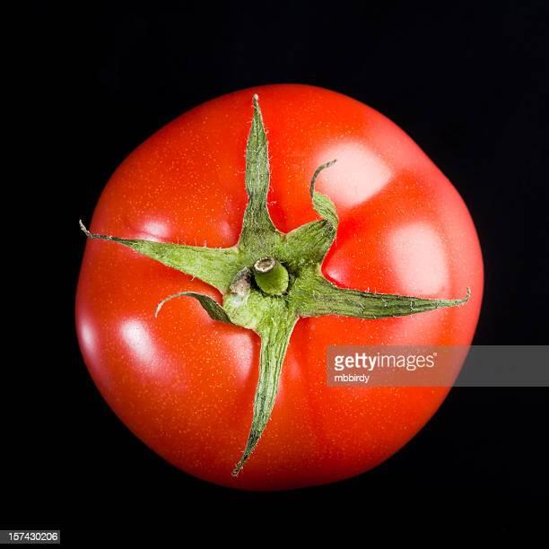 Fresh tomato, isolated