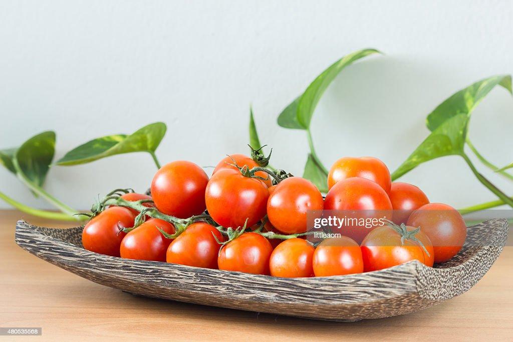 Fresh tomatoes : Stockfoto
