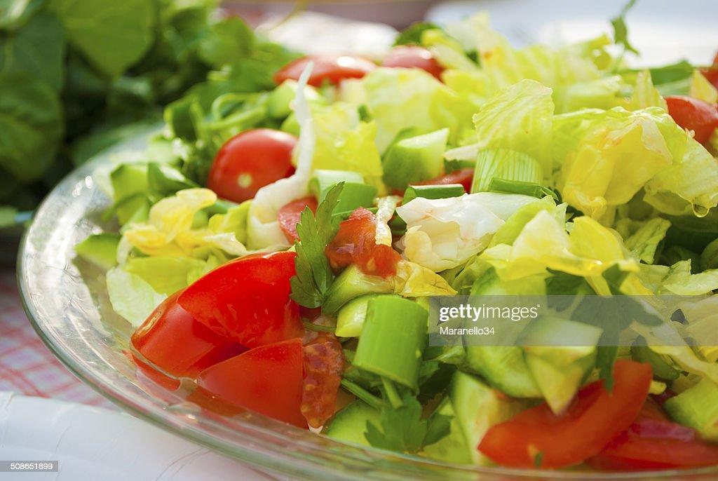 Fresh Vegetable Salad : Stock Photo