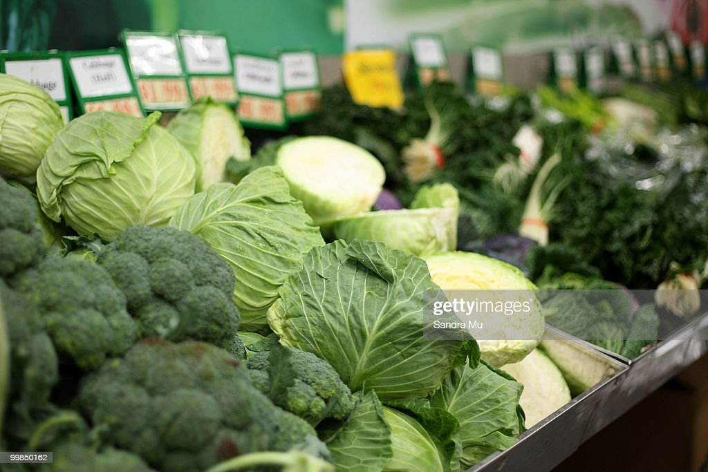 Fresh vegetables are on display but prices are set to rise in the next budget announcement if GST is increased on fruit and vegetables on May 18, 2010 in Auckland, New Zealand. Finance Minister Bill English will deliver the 2010 Budget at Parliament House on March 20.
