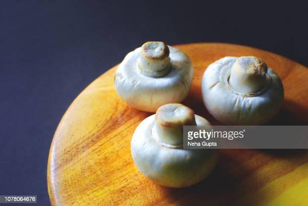 Fresh Vegetables - Button Mushroom