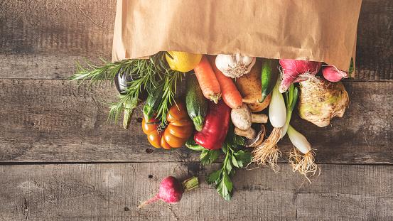 Fresh vegetables healthy food concept 941291094