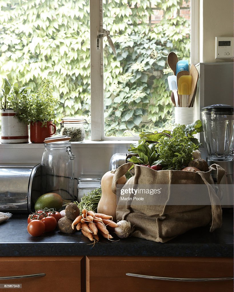 Kitchen Counter Stock Photos and Pictures Getty Images